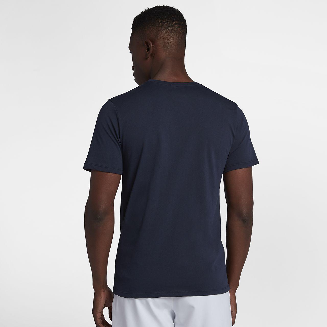 huge selection of aad72 8ad89 ... Tennis-t-shirt NikeCourt för män