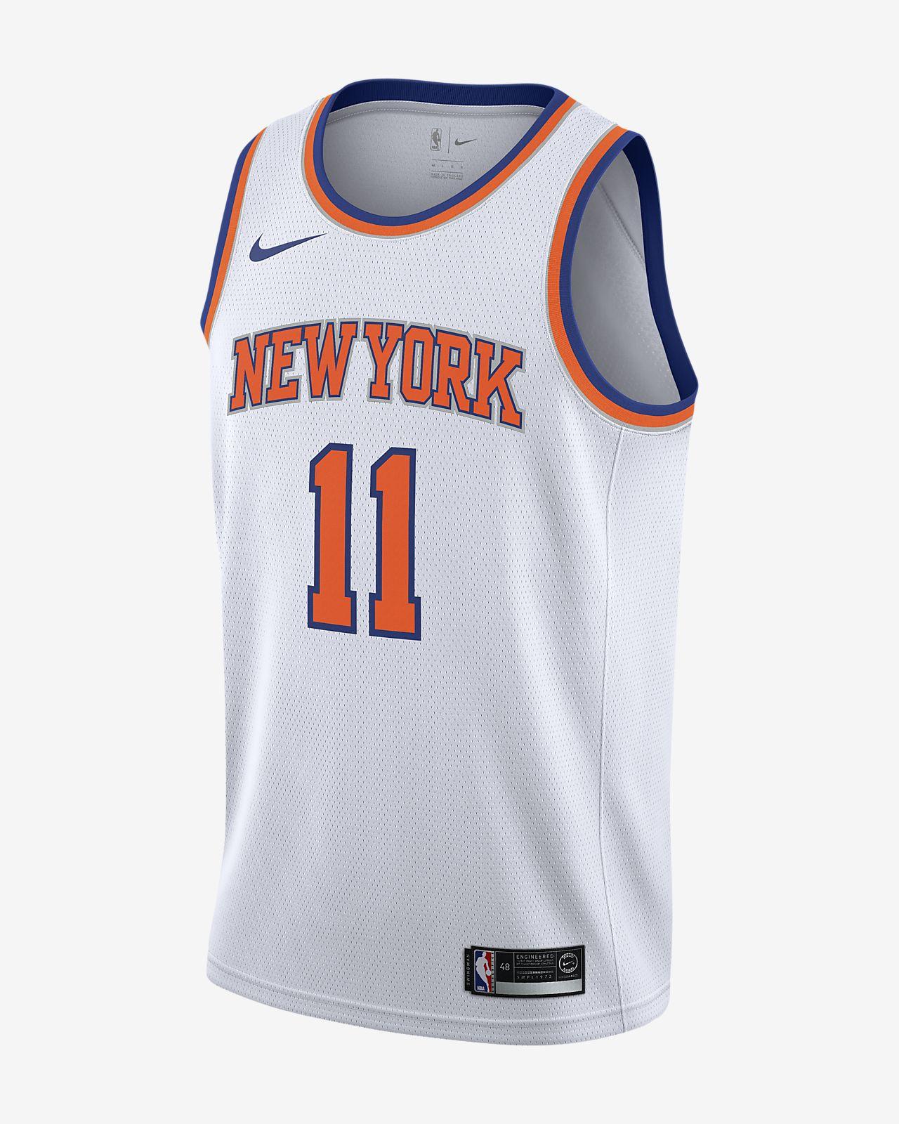 sale retailer 1b08e 88eca ... Maillot connecté Nike NBA Frank Ntilikina Association Edition Swingman  (New York Knicks) pour Homme