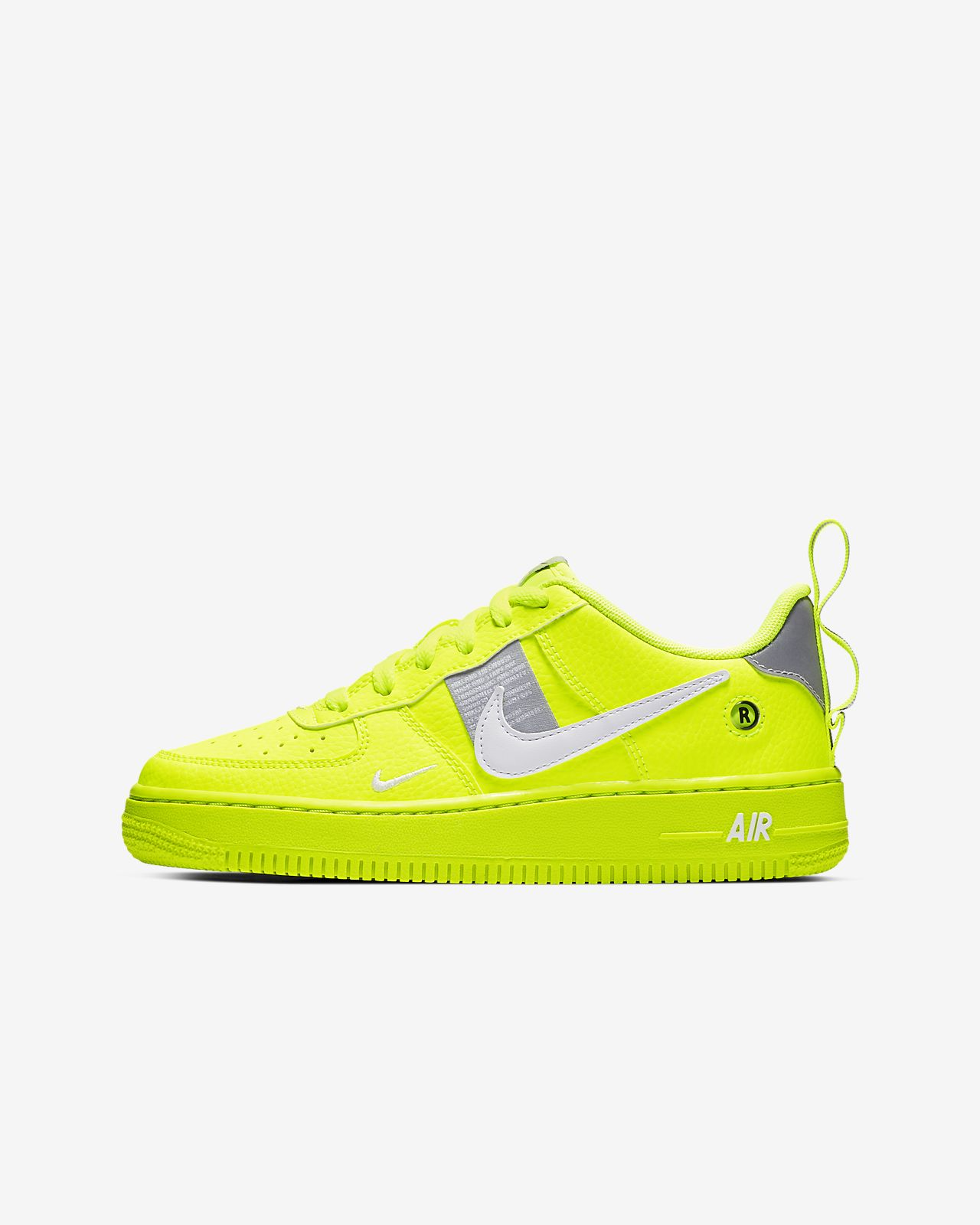 new style fa2c3 d4eac ... Nike Air Force 1 LV8 Utility Big Kids  Shoe