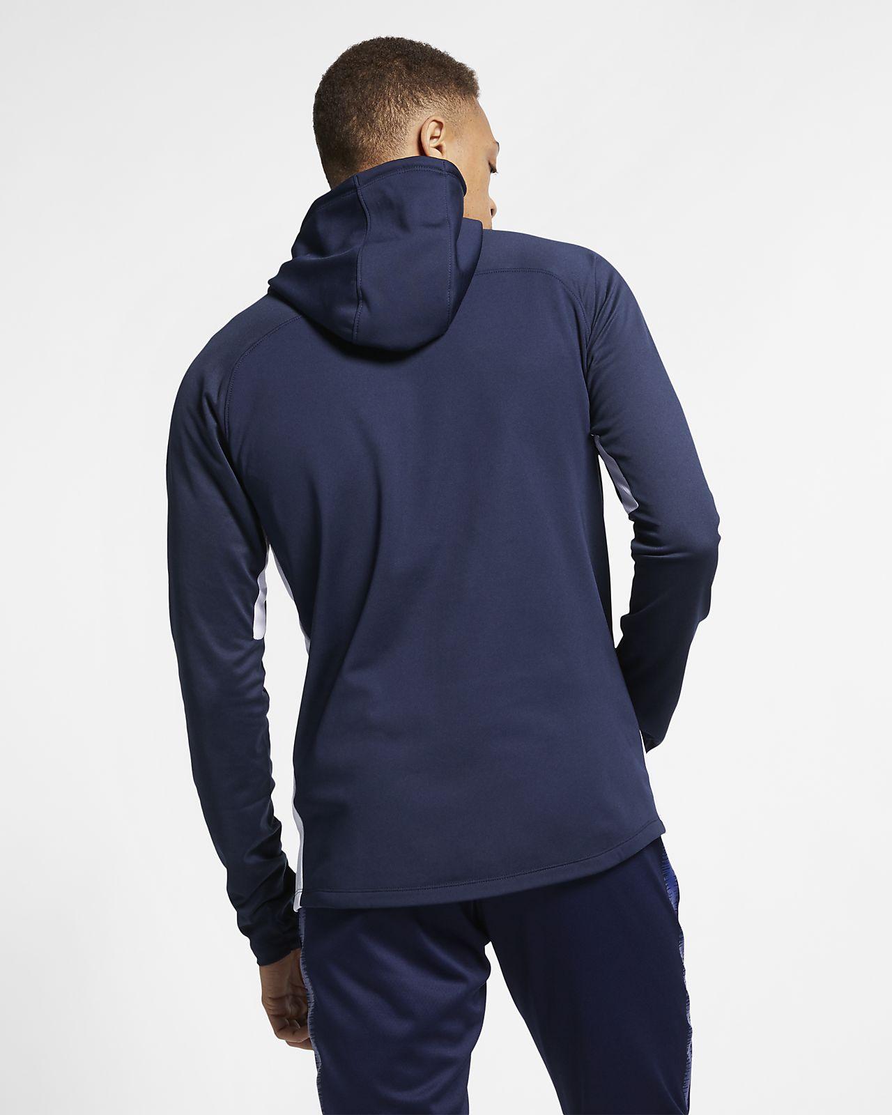 64b2e0bd Nike Dri-FIT Academy Men's Football Pullover Hoodie. Nike.com GB