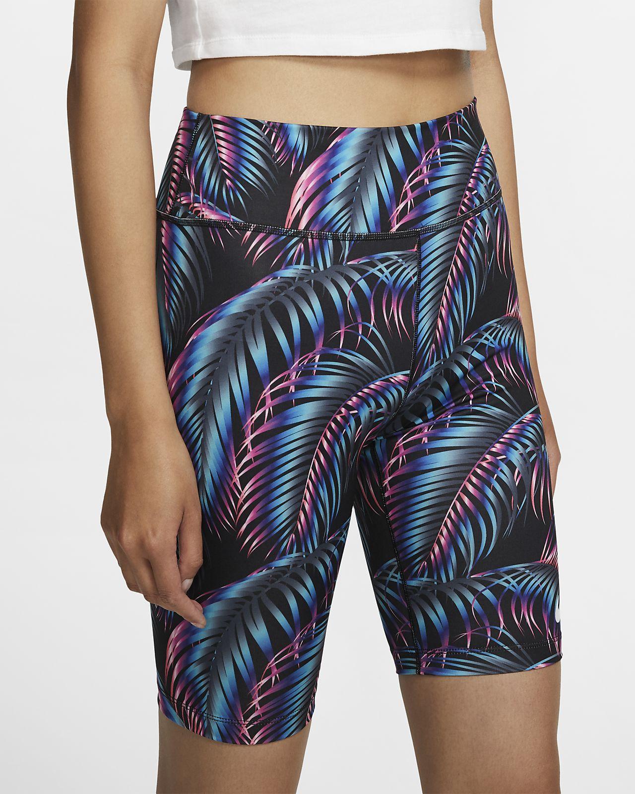 Nike Pantalons curts estampats de ciclisme - Dona