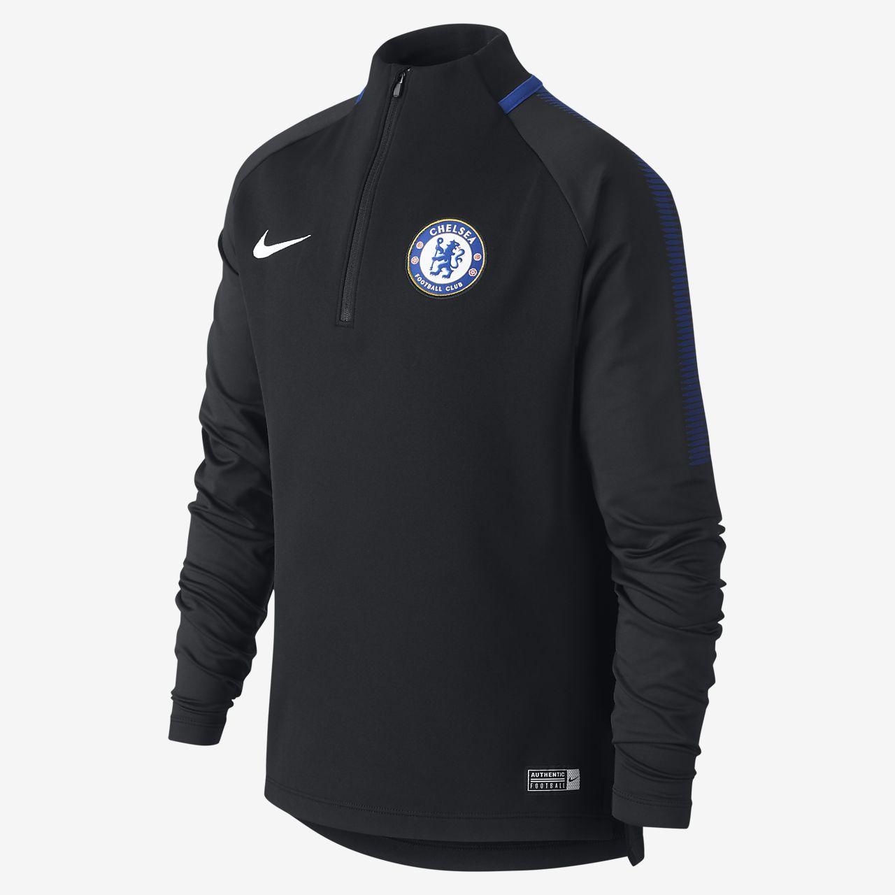 c01f60c37a7ac7 Chelsea FC Dri-FIT Squad Drill Older Kids' Football Top. Nike.com AE
