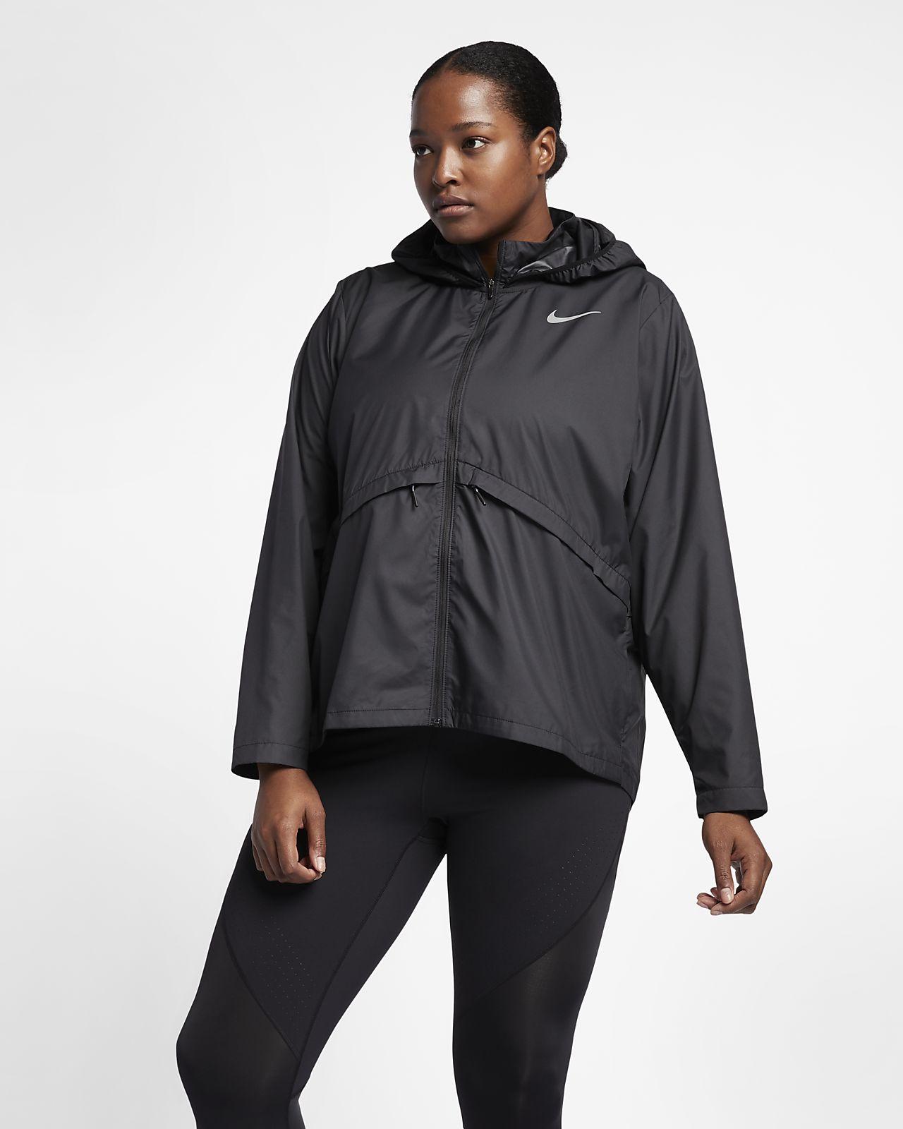 Nike Essential Chaqueta de running (Talla grande) Mujer