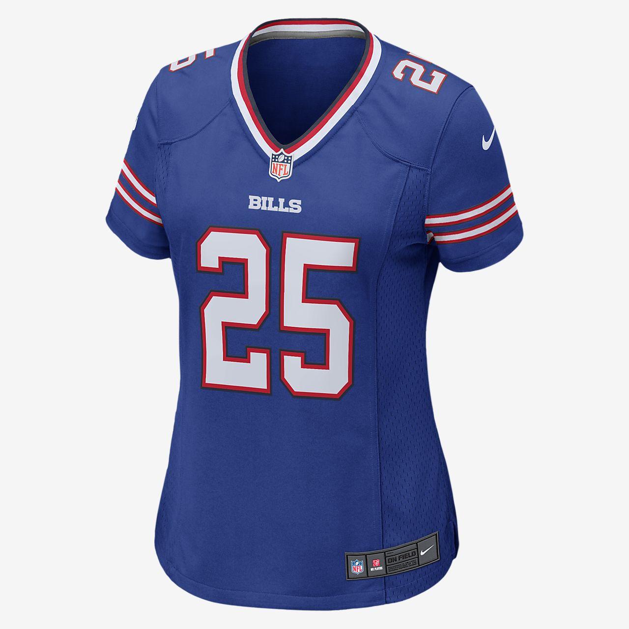87c94ed8880 ... NFL Buffalo Bills (LeSean McCoy) Women's Football Home Game Jersey