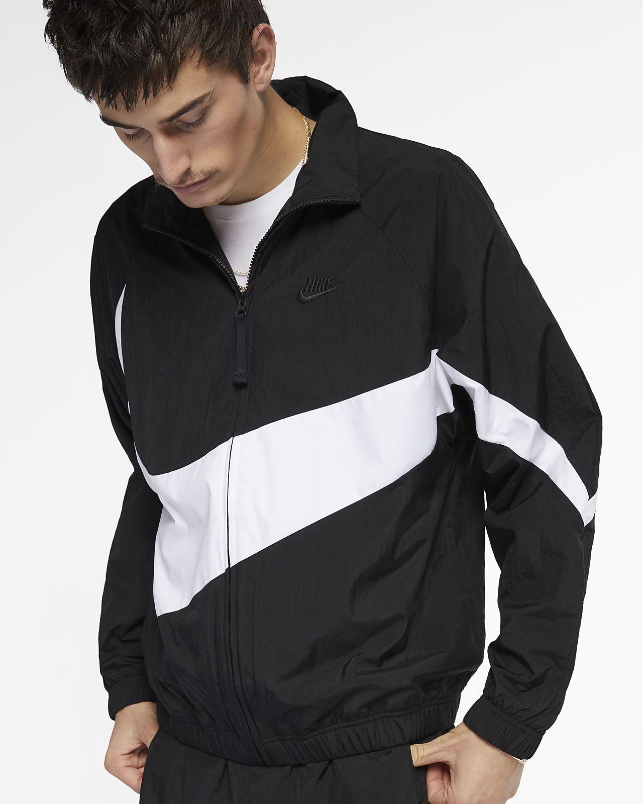 Nike Sportswear Woven Anorak Jacket | AR4941 010 | Black