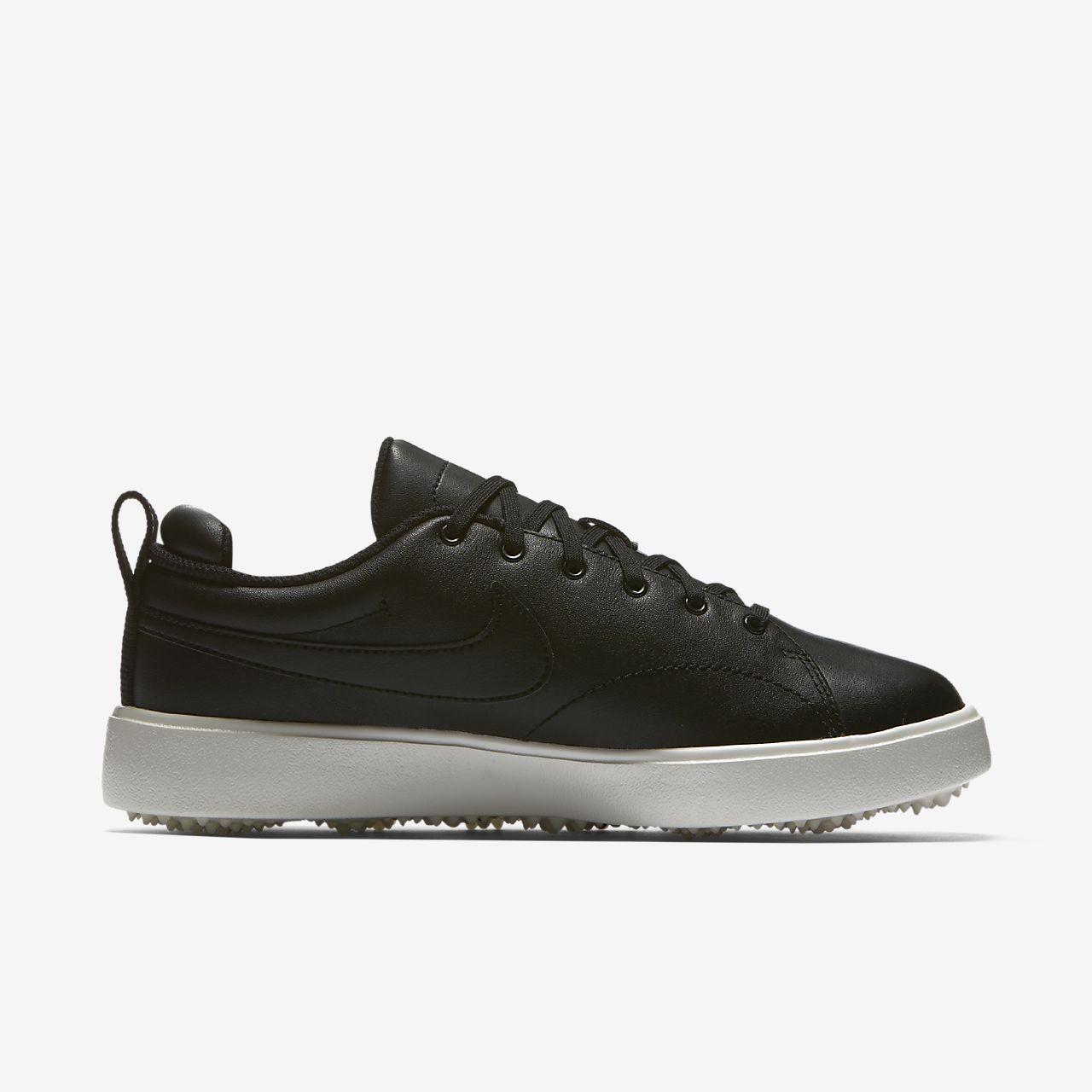 Nike Damen Wmns Course Classic Golfschuhe, Schwarz (Black/Black/Sail 001), 36 EU