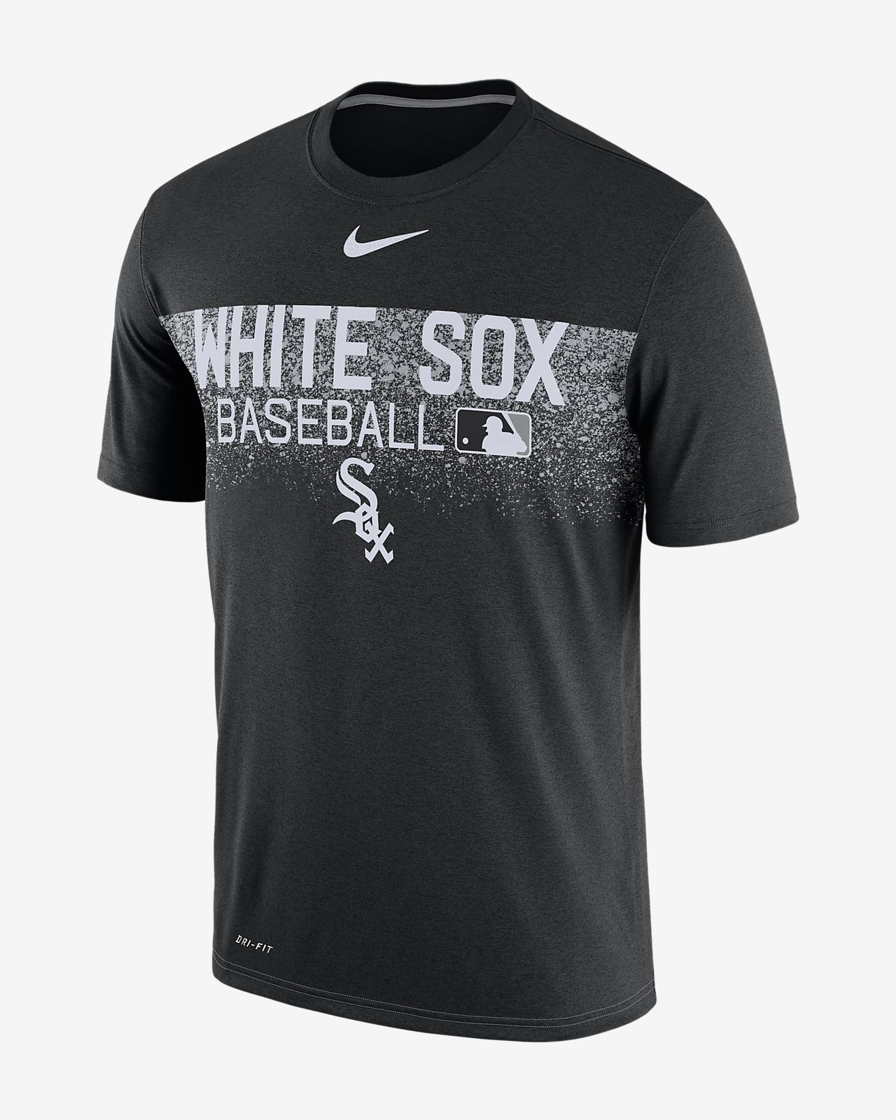 Nike Legend Team Issue (MLB White Sox) Men's T-Shirts Black