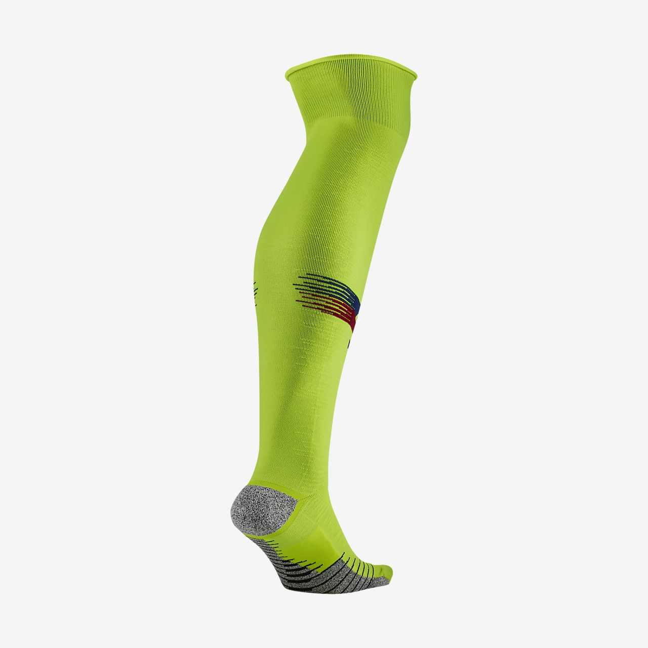 2018/19 FC Barcelona NikeGrip Match Away Over-the-Calf Football Socks