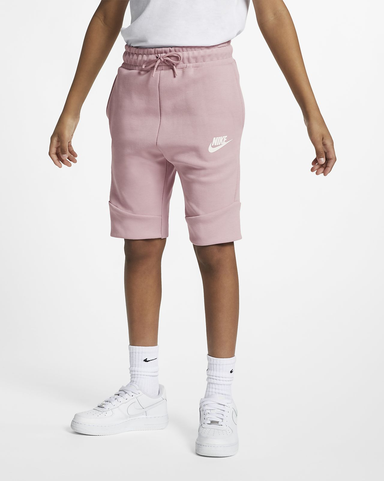 Shorts Nike Sportswear Tech Fleece för ungdom
