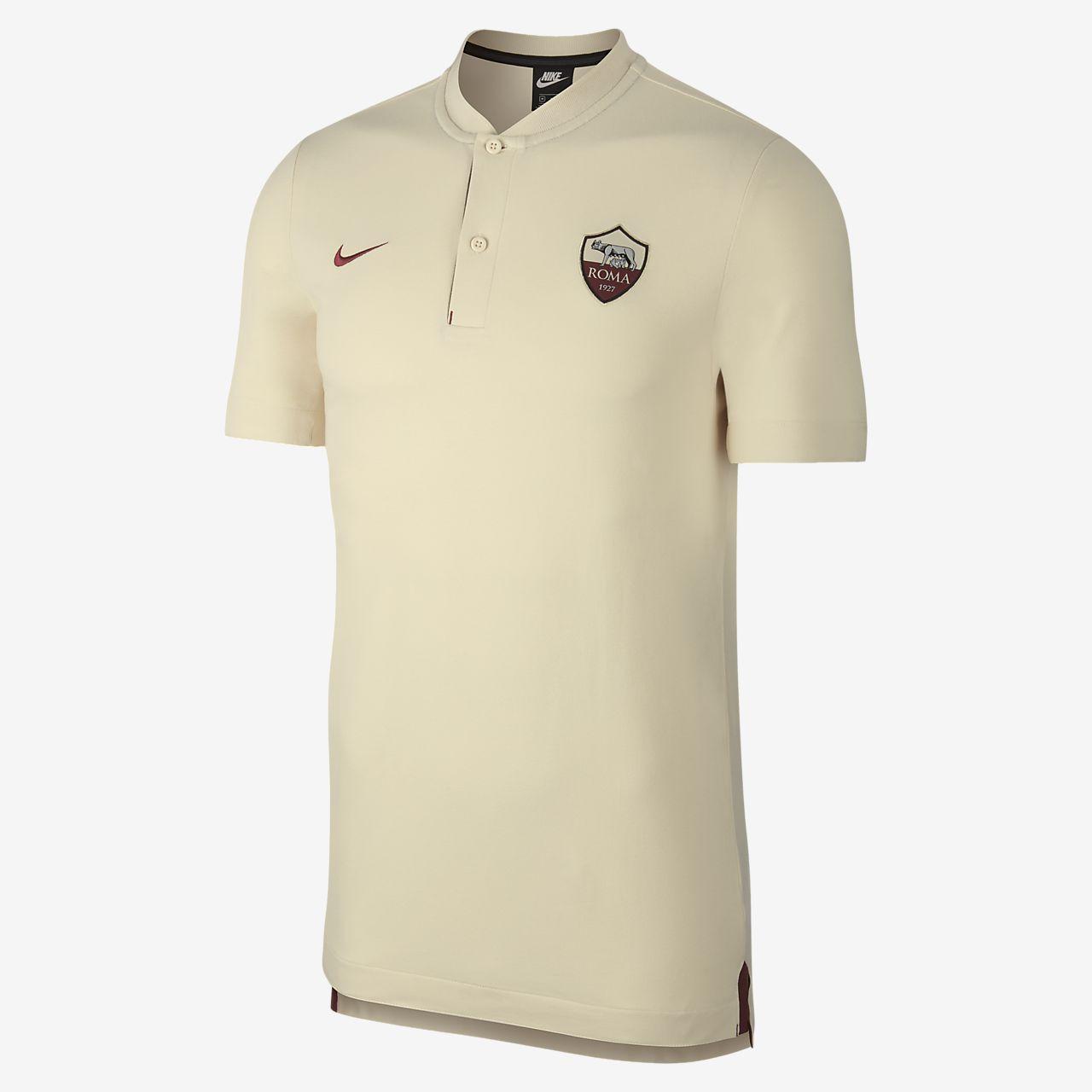 Polo de fútbol para hombre A.S. Roma
