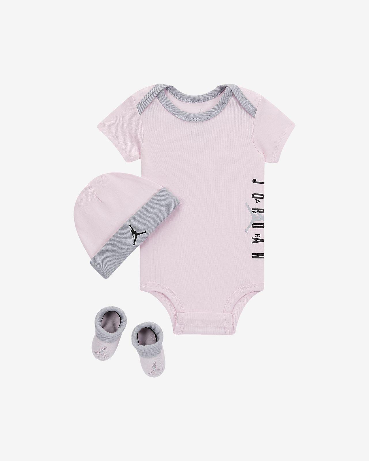 Jordan Jumpman Air-sæt i 3 dele til babyer