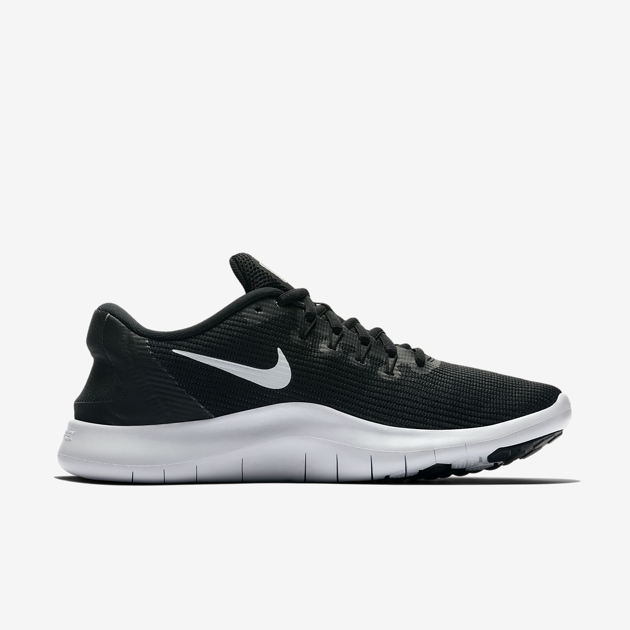 Nike Womens Flex Rn 2018 Fabric Low Top Lace Up Running Sneaker