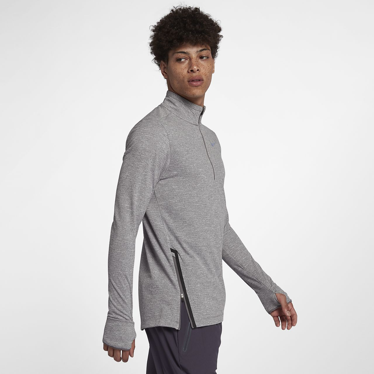 4536db96 Nike Therma-Sphere Men's 1/2-Zip Running Top. Nike.com CA