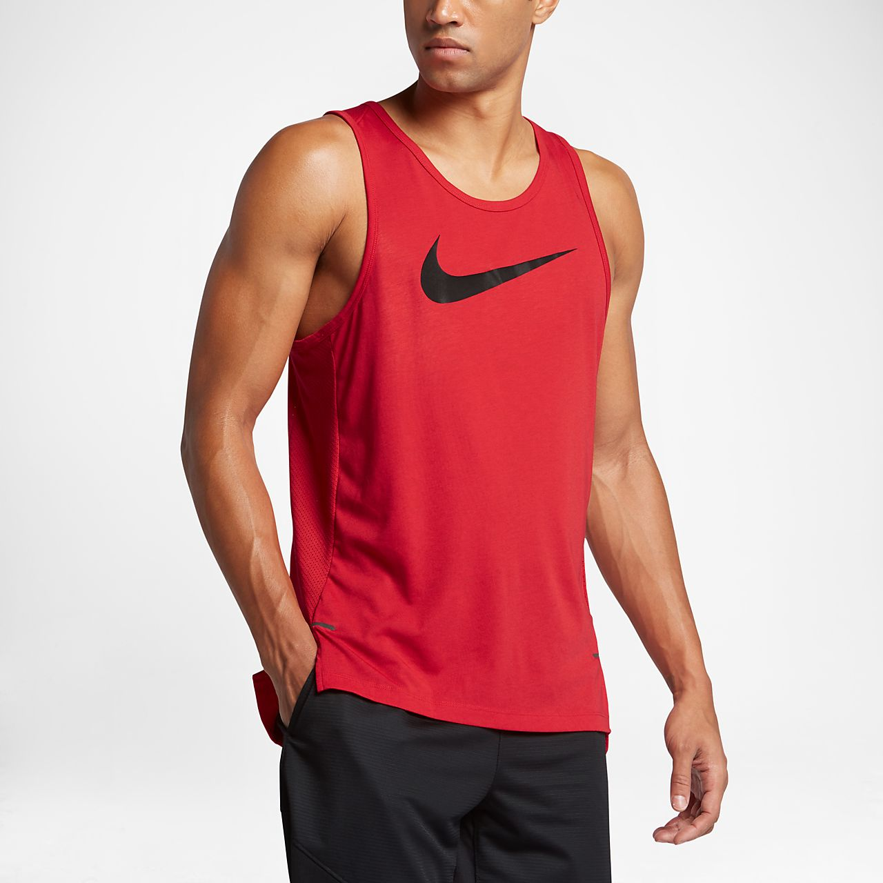 camiseta de tirantes de b squetbol para hombre nike dry. Black Bedroom Furniture Sets. Home Design Ideas