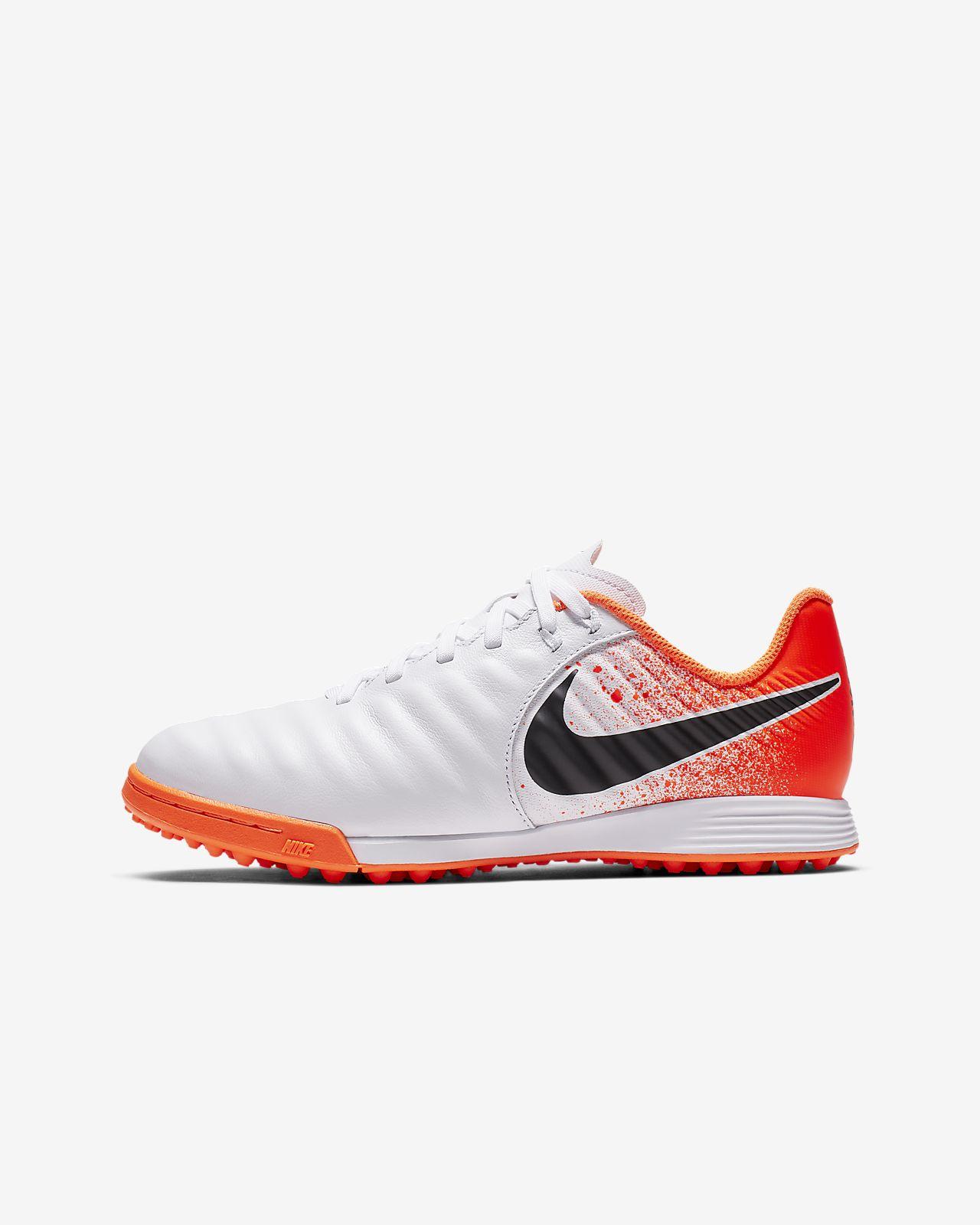 bf3ad639e ... Nike Jr. Tiempo Legend VII Academy TF Botas de fútbol para moqueta -  Turf -