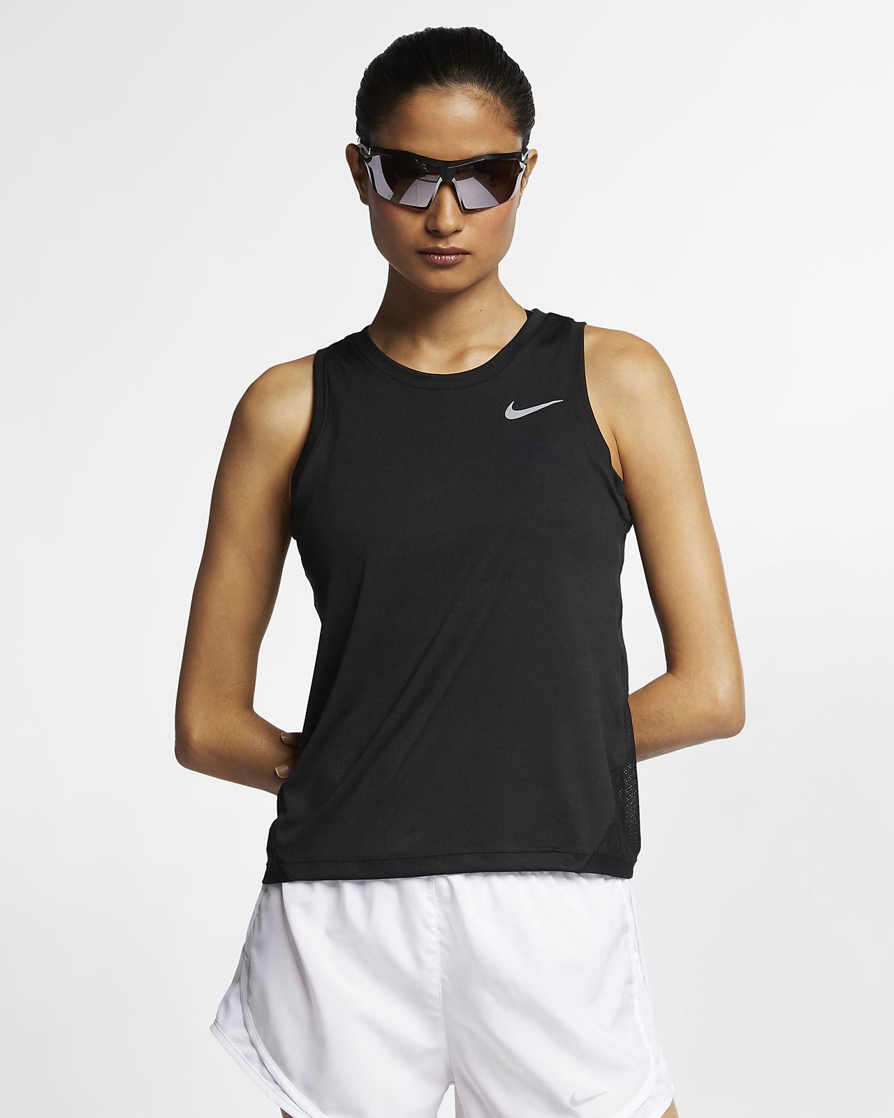 Aplicar Investigación especificación  Nike Miler Women's Running Tank. Nike IL