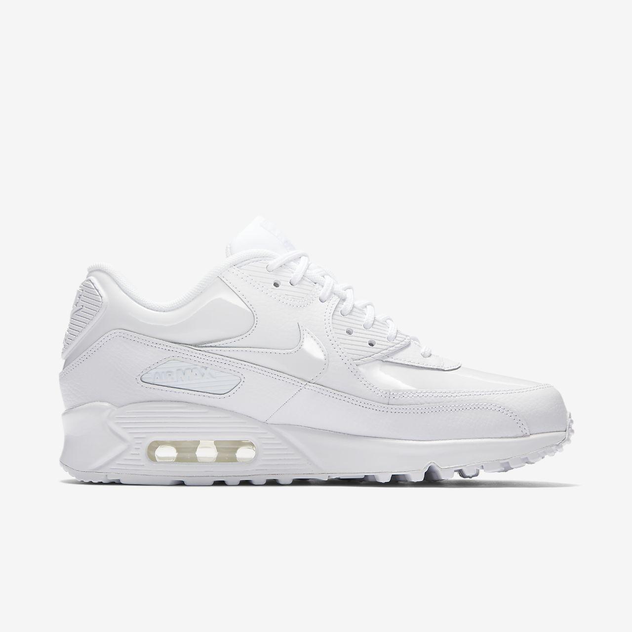 Nike Air Max 90 Patent Damenschuh - Weiß 58mgWtT