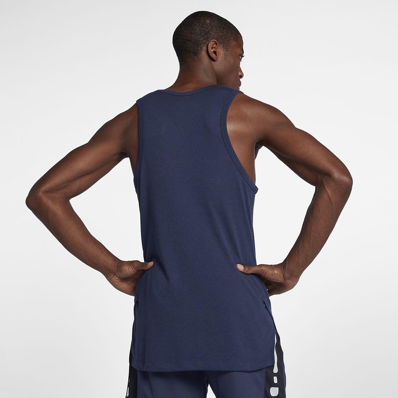 e390be69b76b Nike Breathe Elite Men s Sleeveless Basketball Top. Nike.com SK