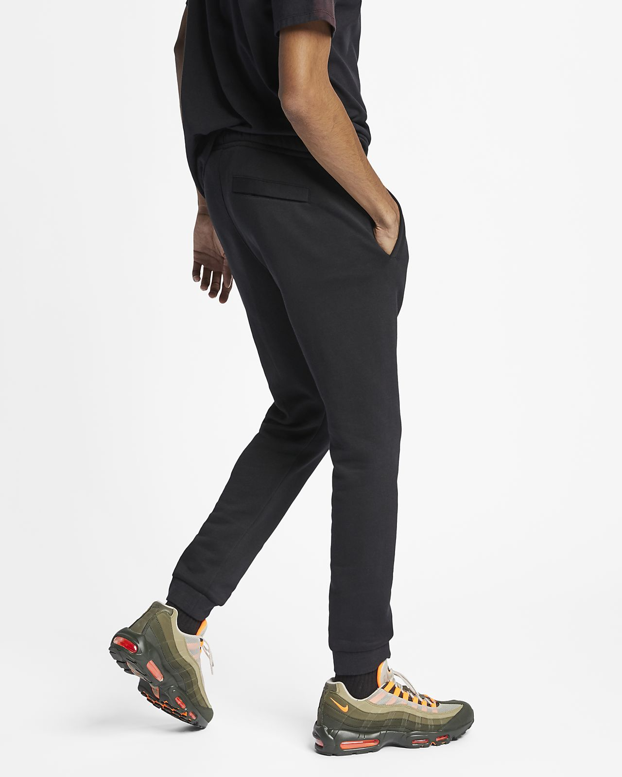 5fbf4d15a46c3 ... Pantalones de entrenamiento de vellón para hombre Nike Sportswear JDI