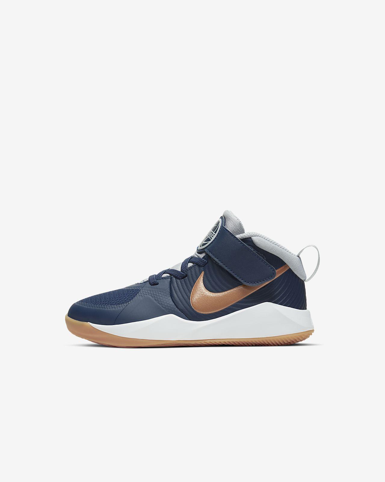 Nike Team Hustle D 9 Younger Kids' Shoe