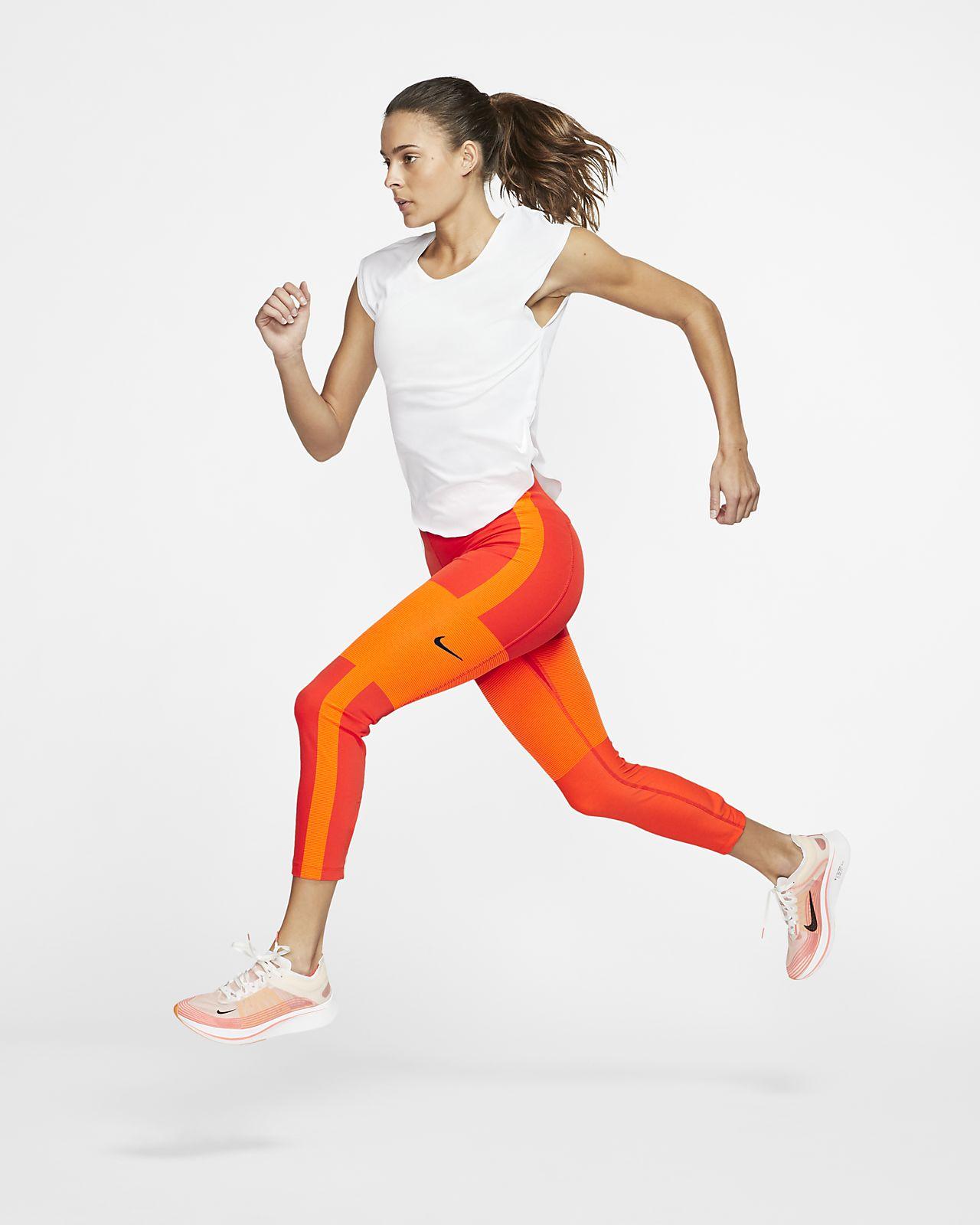 Leggings da running a lunghezza ridotta Nike Tech Pack Donna