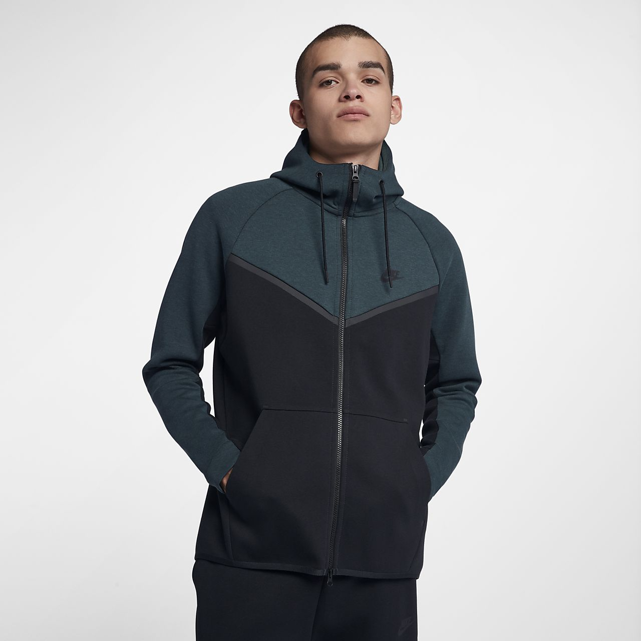 ... Nike Sportswear Tech Fleece Windrunner Men's Full-Zip Hoodie