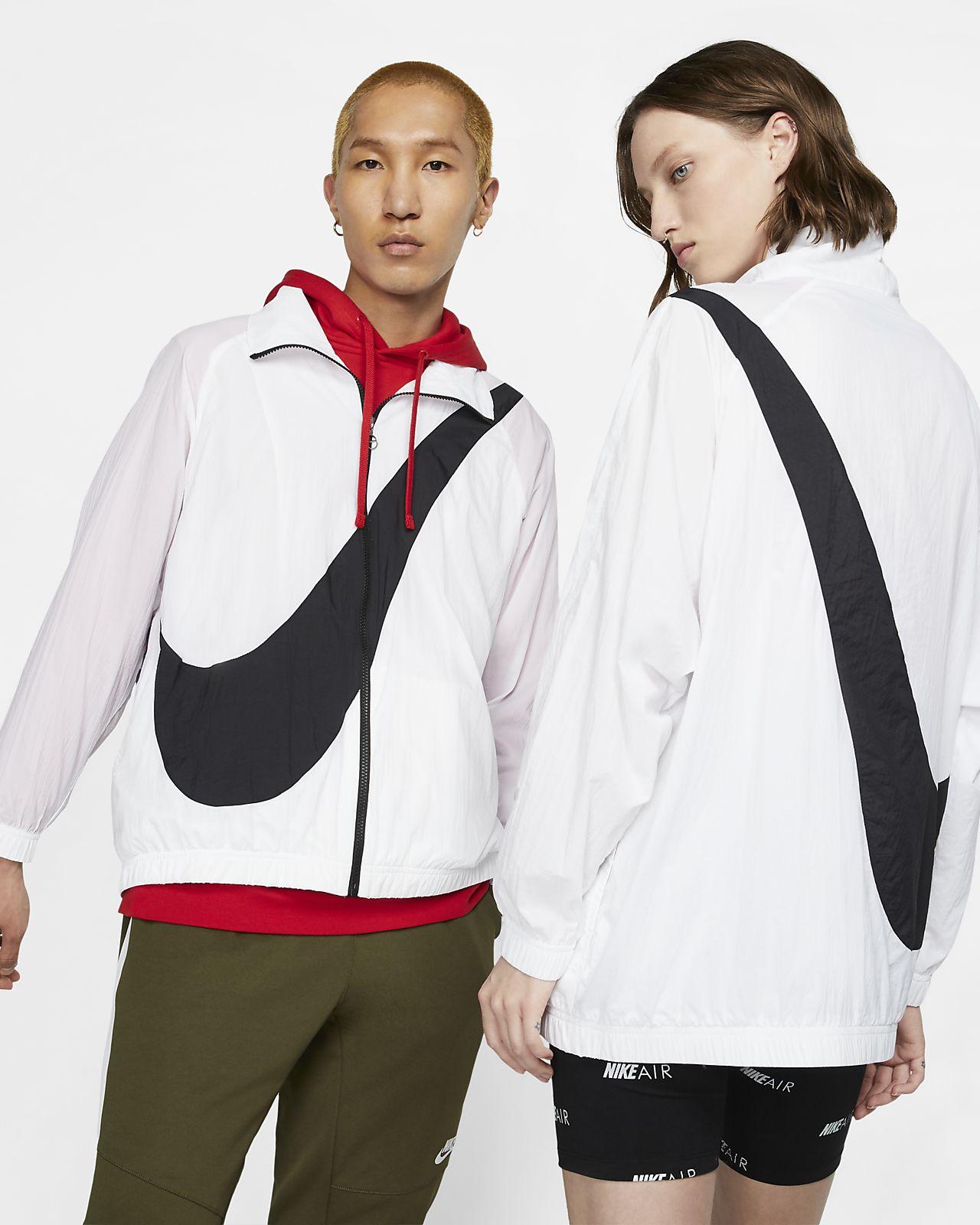 Υφαντό τζάκετ με σήμα Swoosh Nike Sportswear
