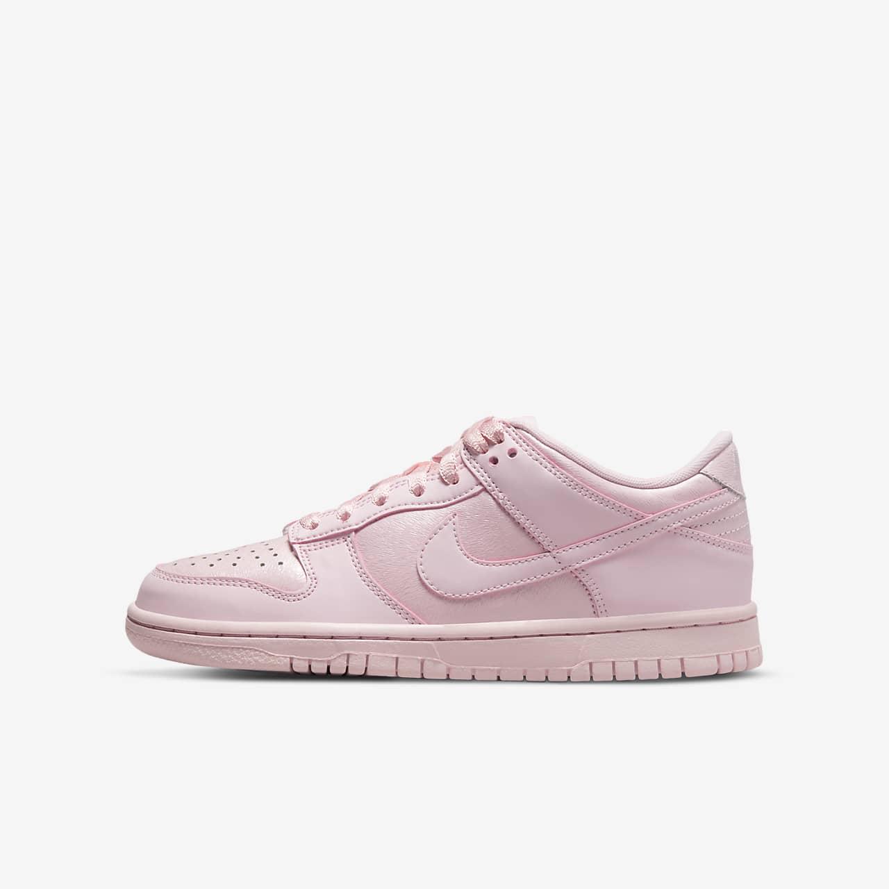 nike dunk low rosa