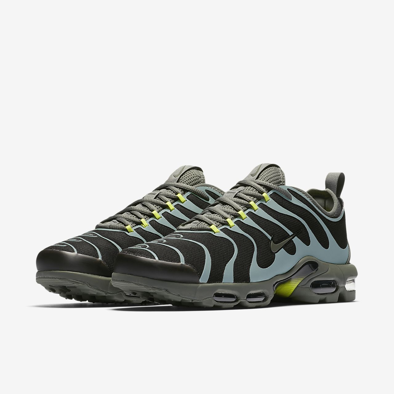 Nike Air Max Tn, Plus Blanc / Robe Bleue