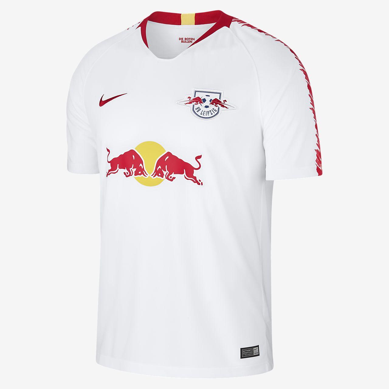 2018/19 RB Leipzig Stadium Home fotballtrøye til herre