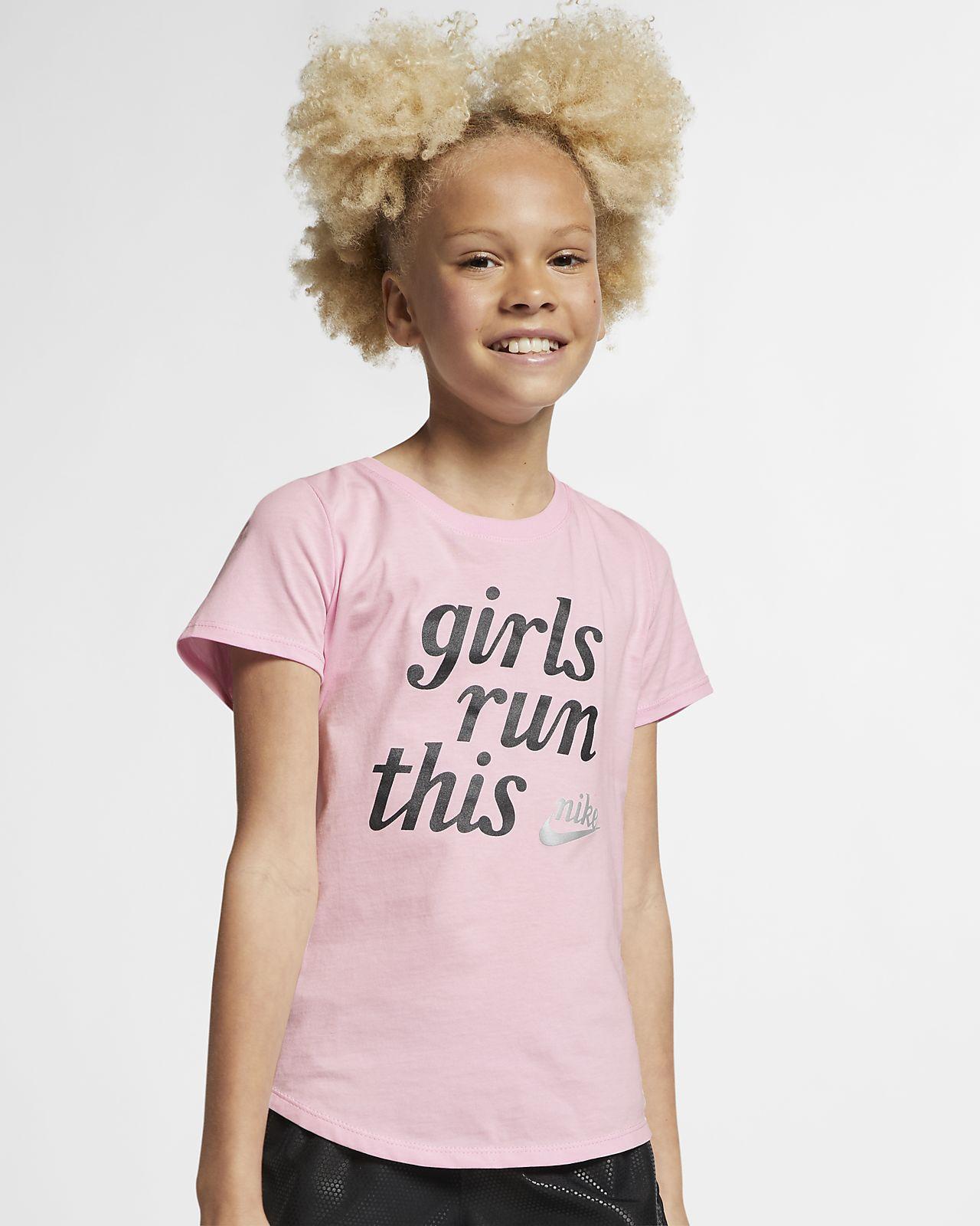 Nike Sportswear Big Kids' (Girls') T-Shirt