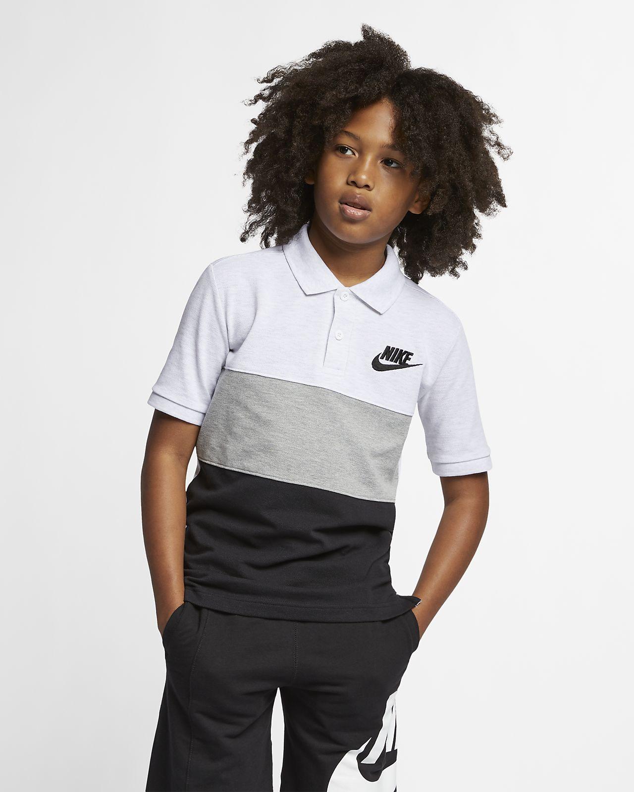 Nike Sportswear Matchup poloskjorte for store barn (gutt)