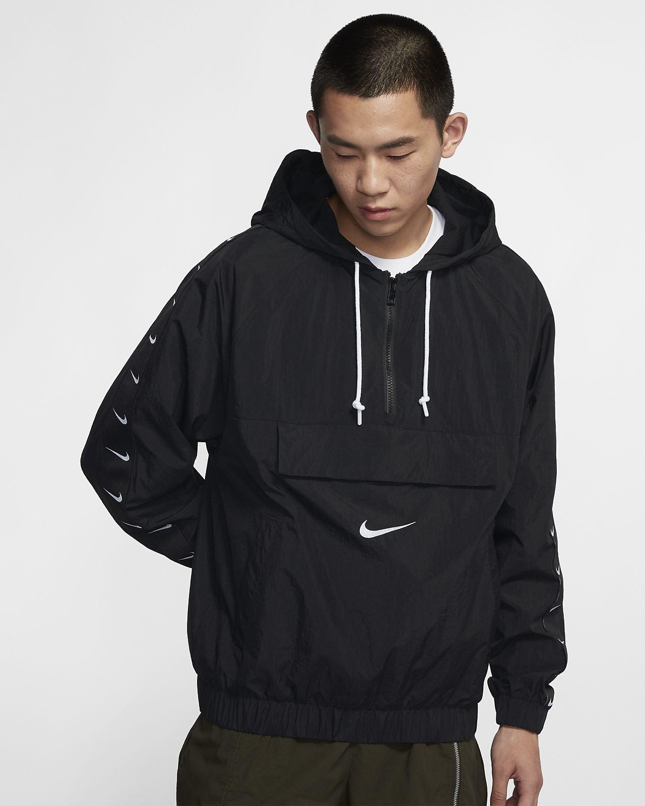 Nike Sportswear Swoosh 男款梭織外套