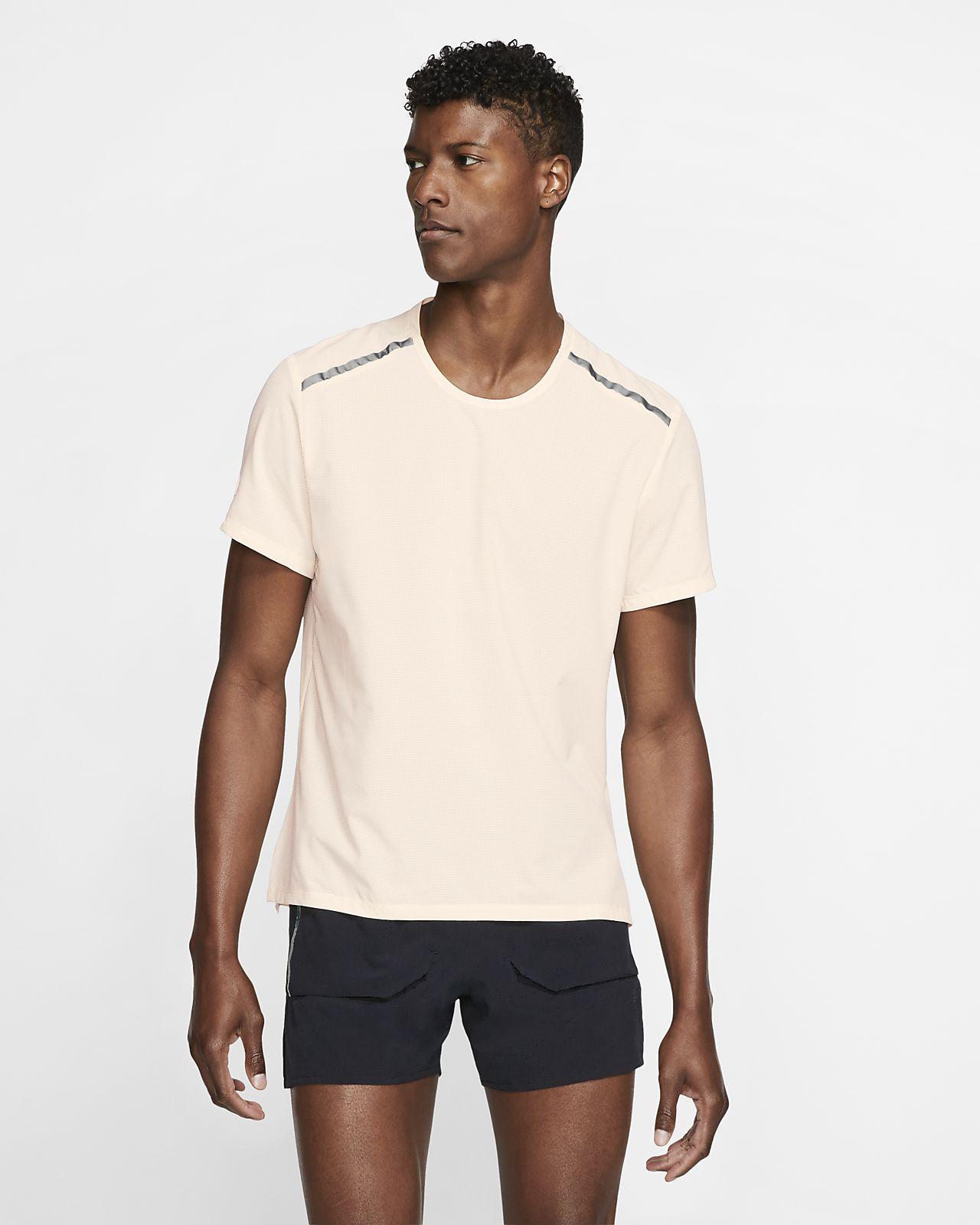Męska koszulka z krótkim rękawem do biegania Nike