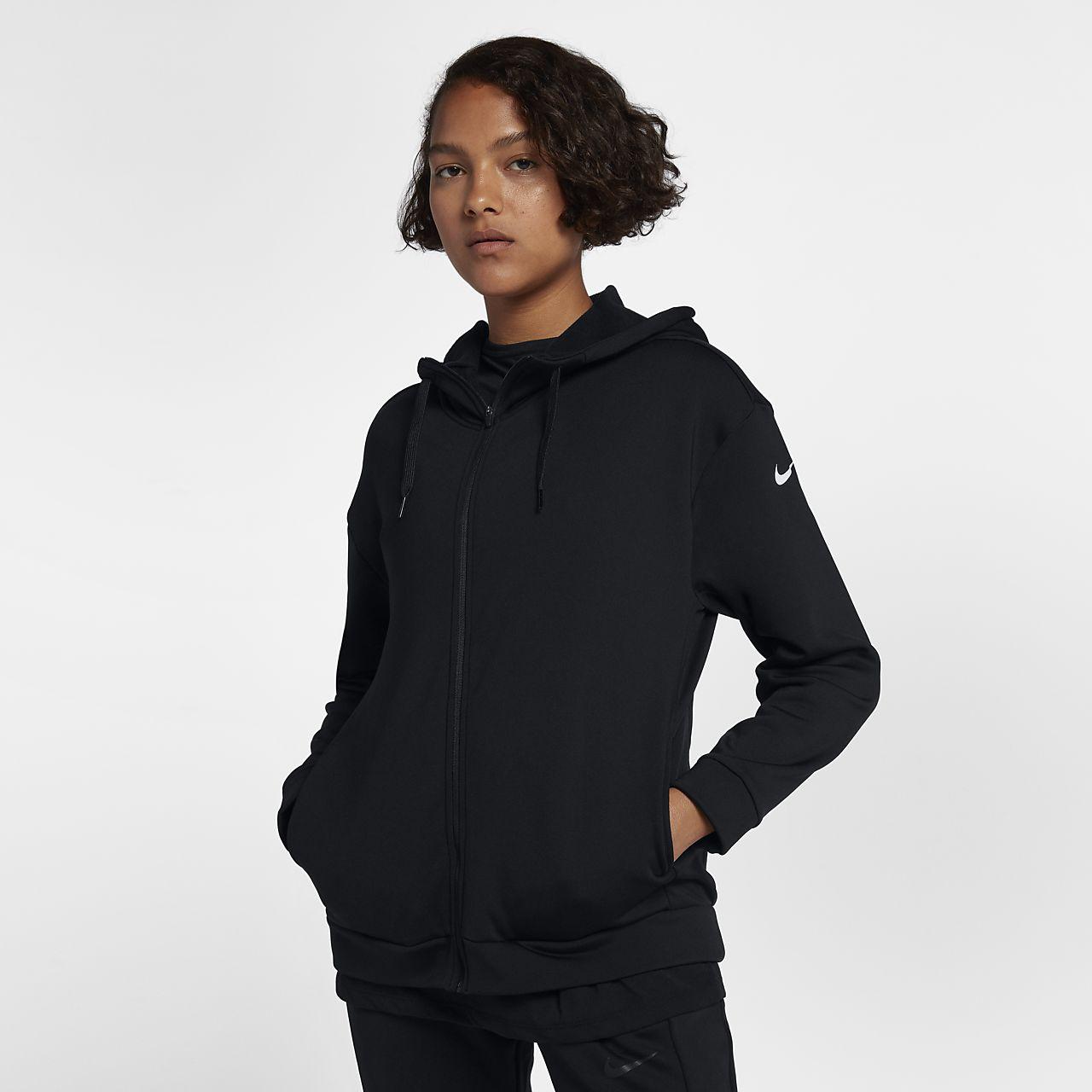 Nike Dri Fit Therma Women S Full Zip Training Hoodie Nike Com