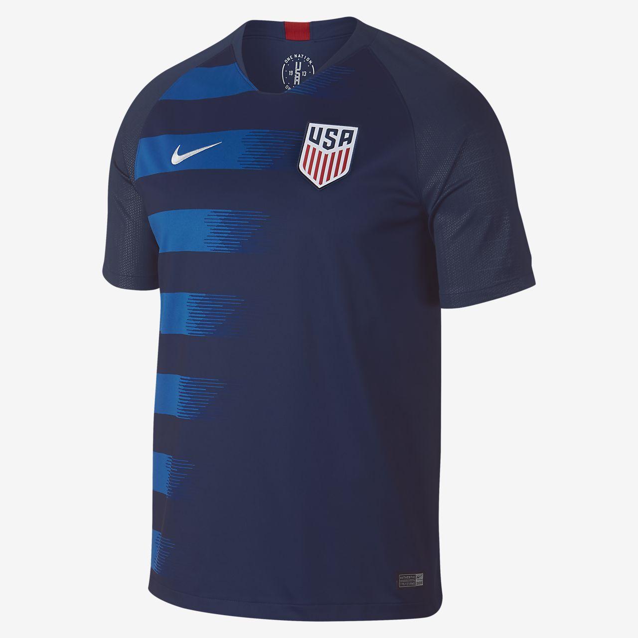 f72135c9fe Réplica da camisola de futebol alternativa dos E.U.A. de 2018 para homem