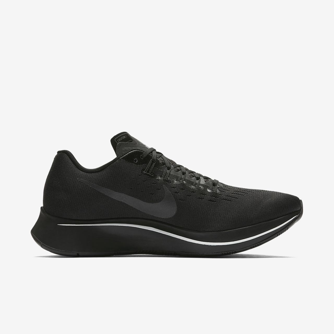 on sale 2b186 ac666 scarpa da running nike zoom fly nero pure platinum anthracite nero bq7212- 001