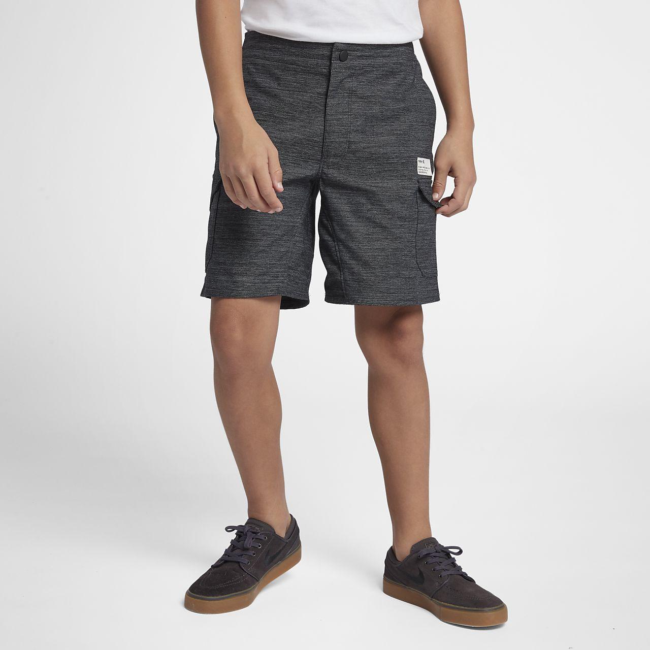 Hurley Dri-FIT Breathe Pantalón corto con bolsillos de 41 cm - Niño