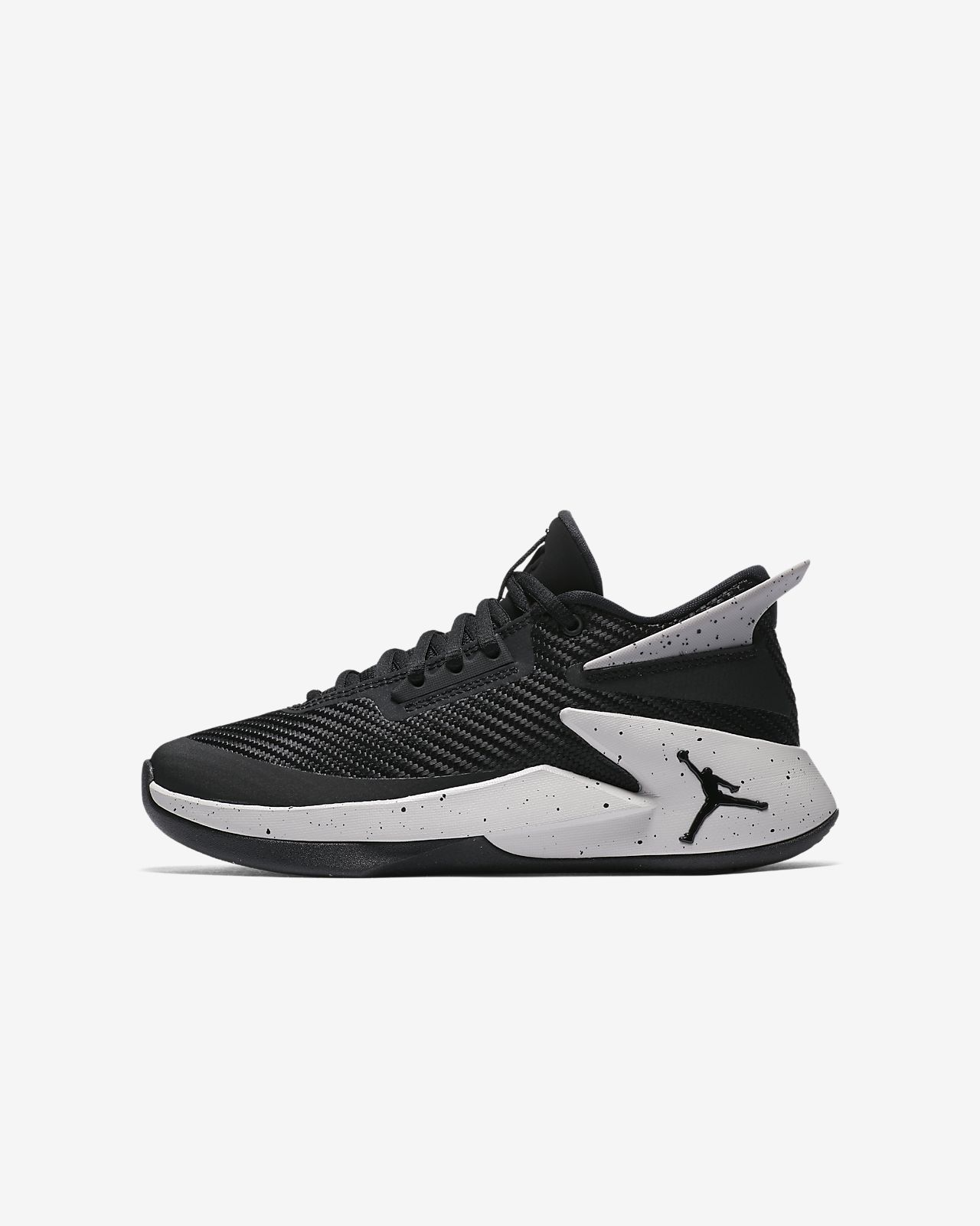 Jordan FLY LOCKDOWN - Basketball shoes - gym red/black/white i0jSytr