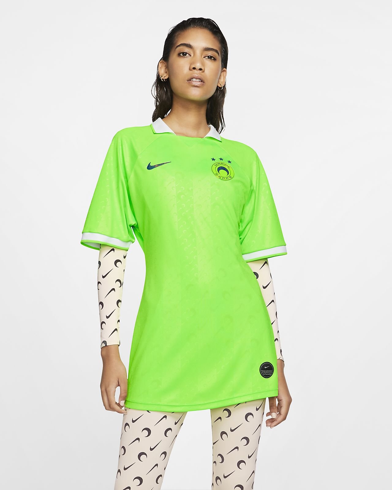 เสื้อแข่ง 2-in-1 ผู้หญิง Nike x Marine Serra