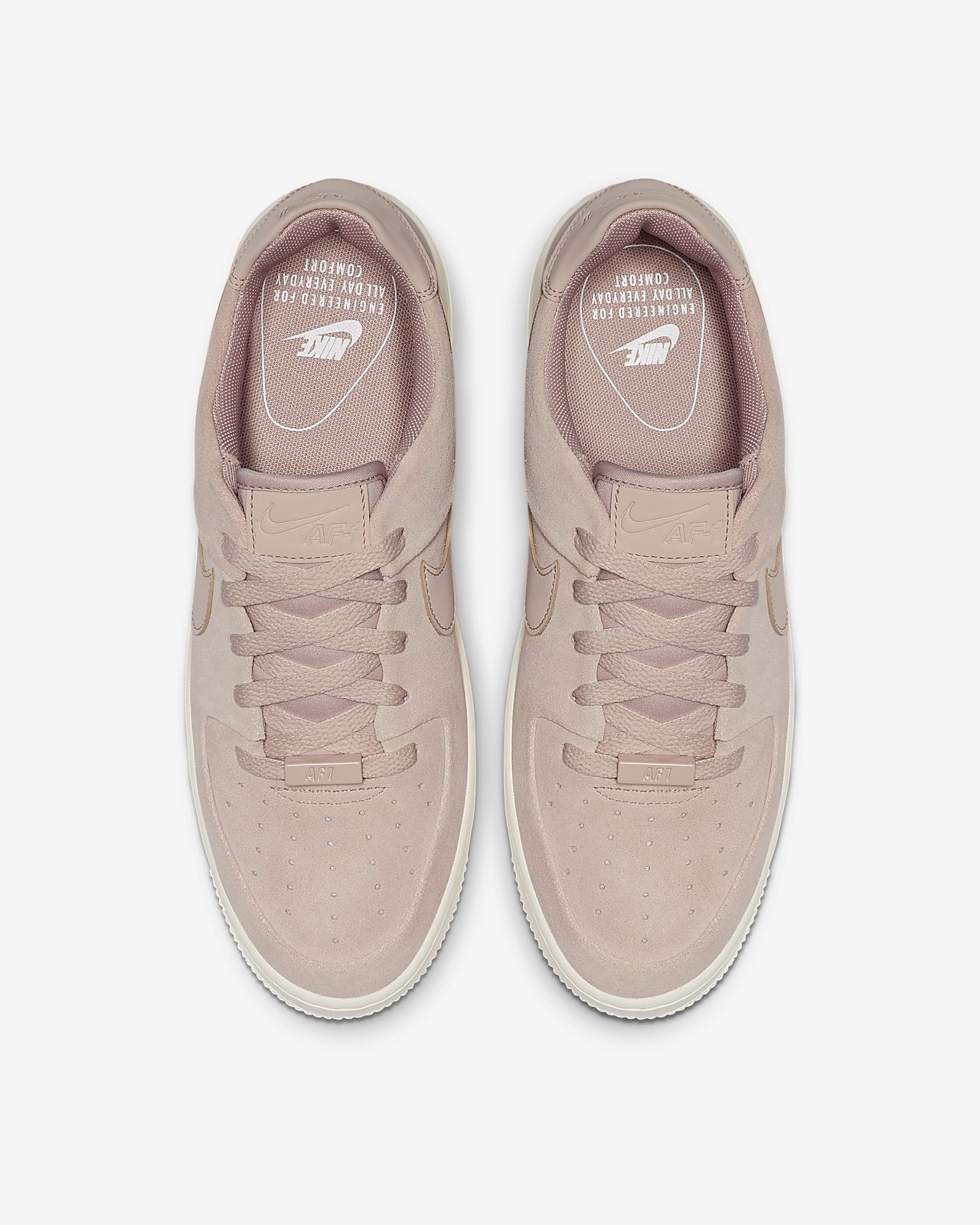 Nike Air Force 1 Shadow Pale Ivory Womens Shoes Low SNEAKERS Af1 Size 7 38