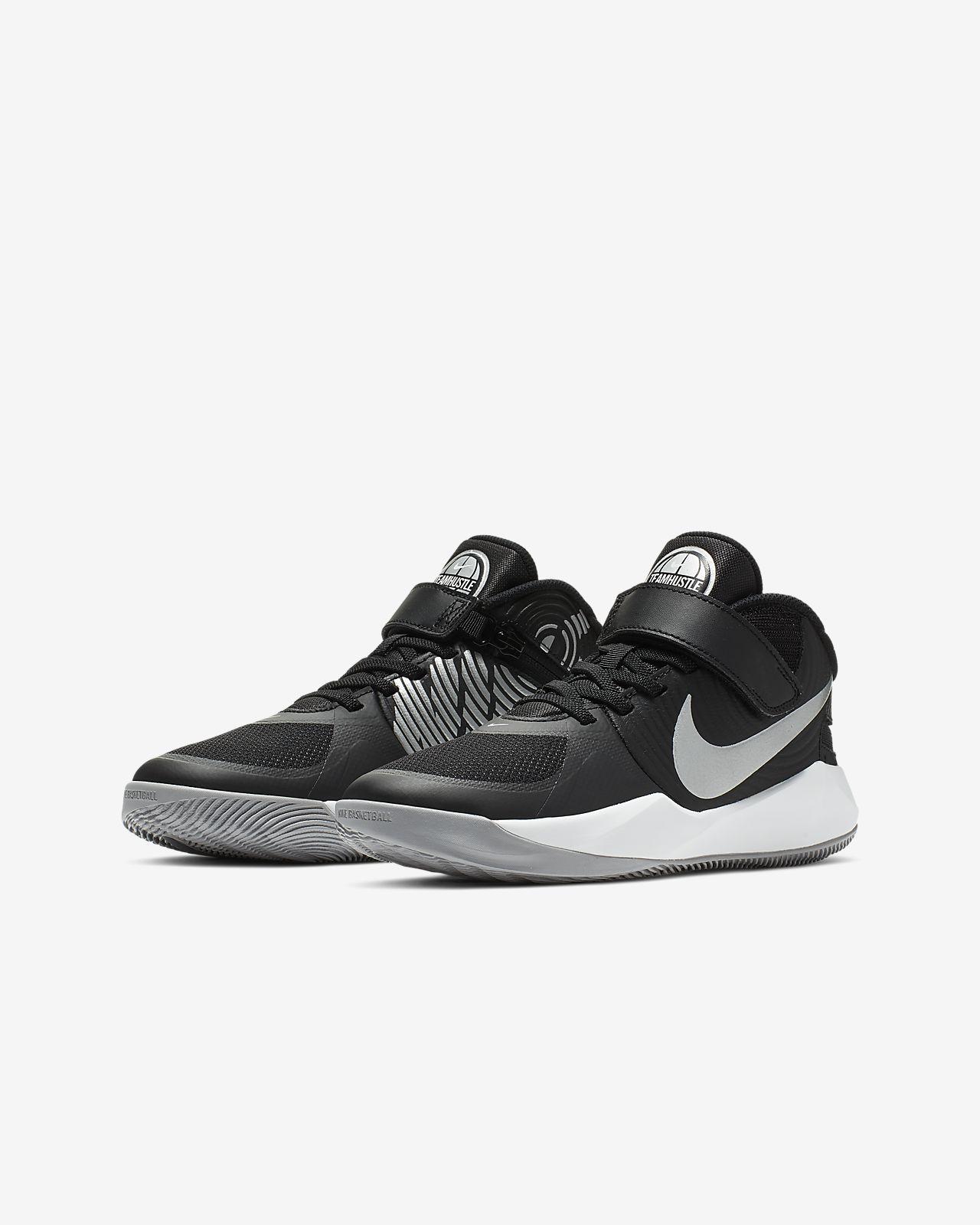 4b0ab3129187 Nike Team Hustle D 9 Flyease Big Kids  Basketball Shoe. Nike.com