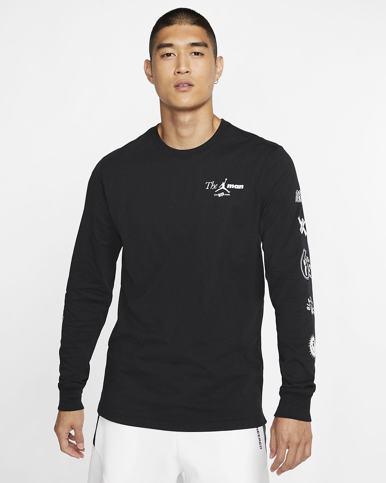 """Jordan """"The Man"""" Men's Long-Sleeve T-Shirt"""