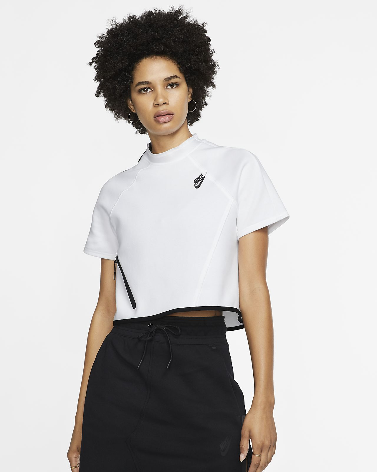 Nike Sportswear Tech Fleece Women's Short-Sleeve Top