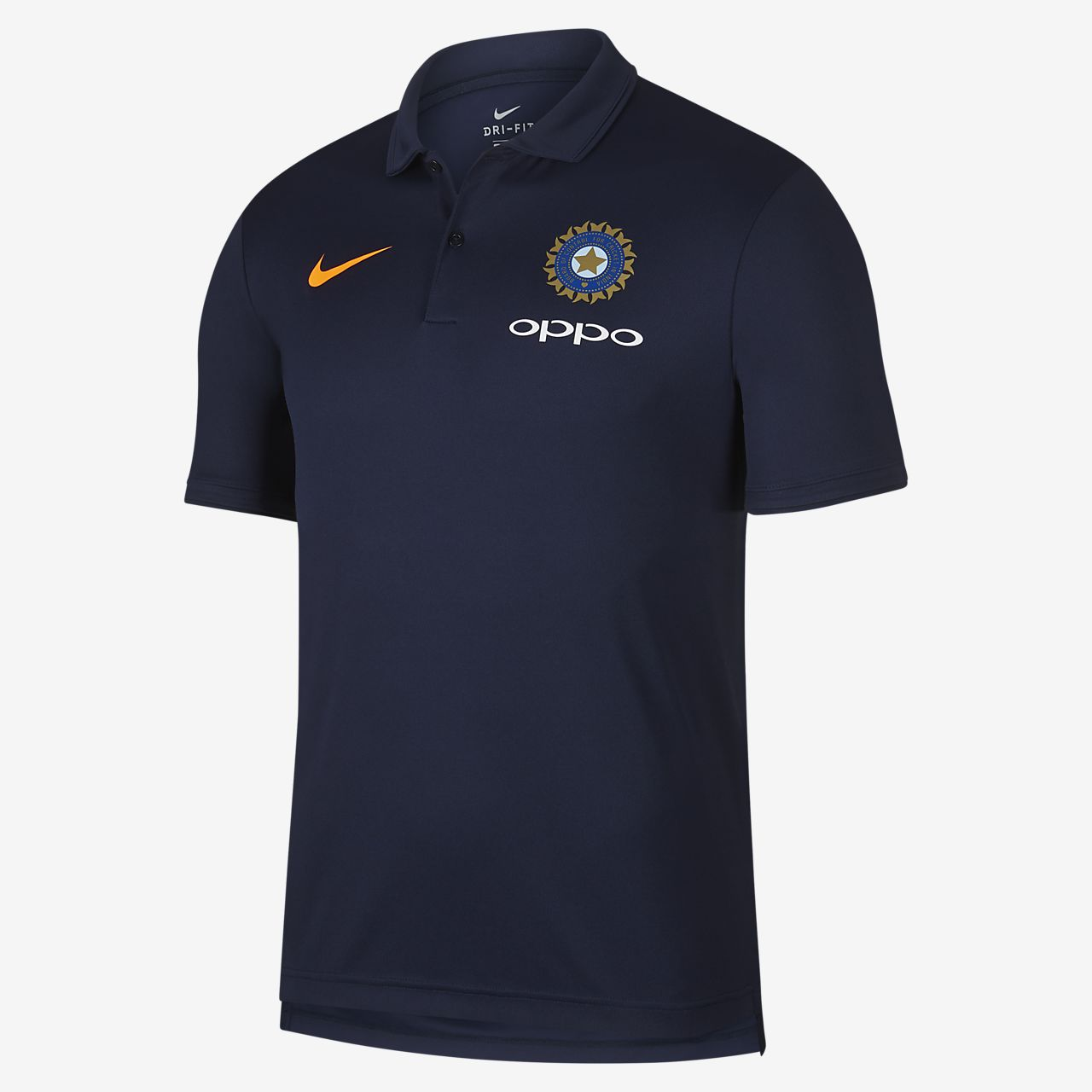 BCCI Dri-FIT Men's Cricket Polo