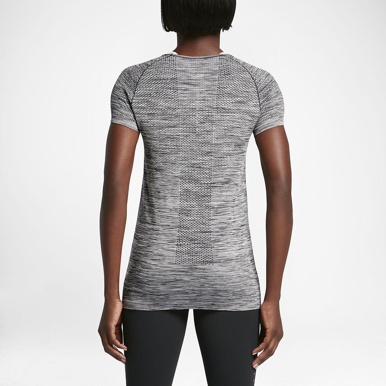 0cf0d9f7607e Nike Dri-FIT Knit Women s Short-Sleeve Running Top. Nike.com GB