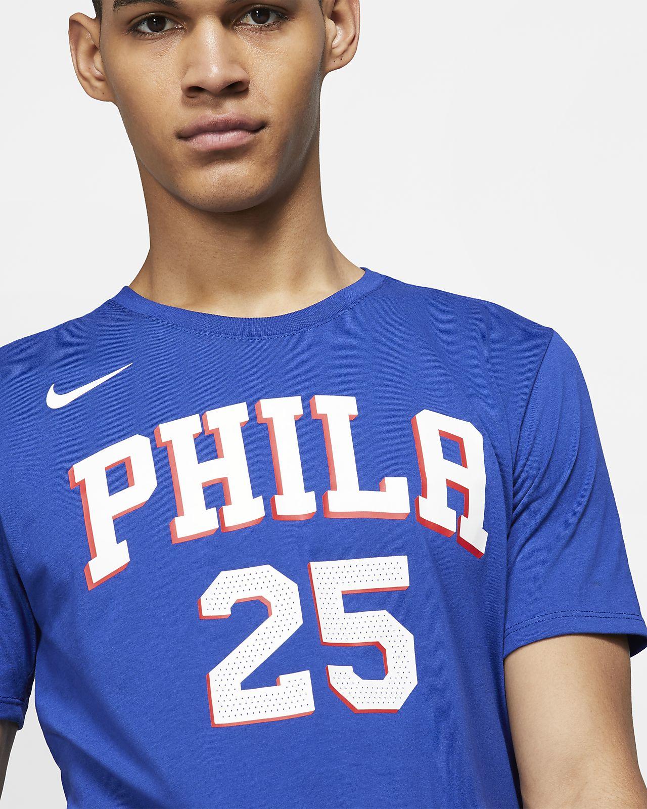 hot sale online 29196 ffe1e Ben Simmons Philadelphia 76ers Nike Dri-FIT Men's NBA T-Shirt
