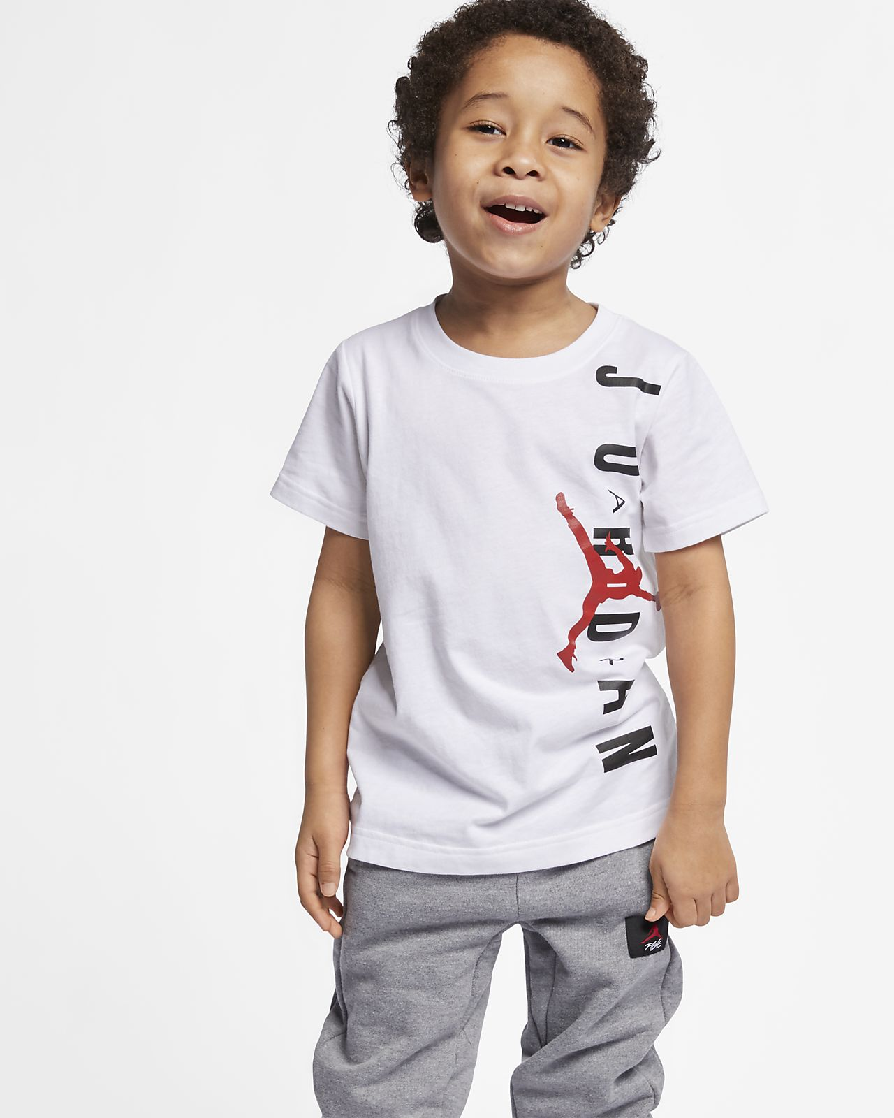 5510e4b10c Jordan Jumpman Air Camiseta - Niño a pequeño a. Nike.com ES