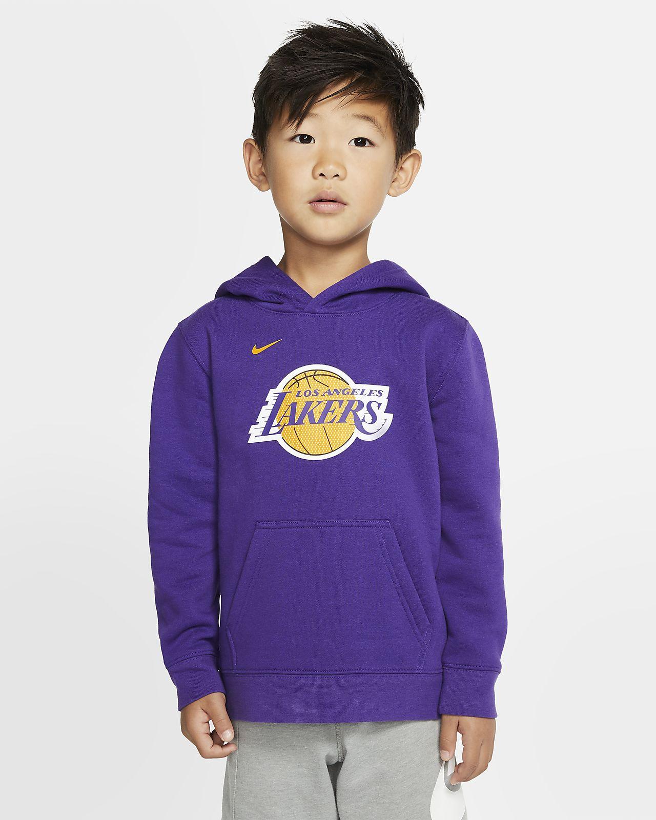 洛杉矶湖人队 Logo Nike NBA 幼童套头连帽衫