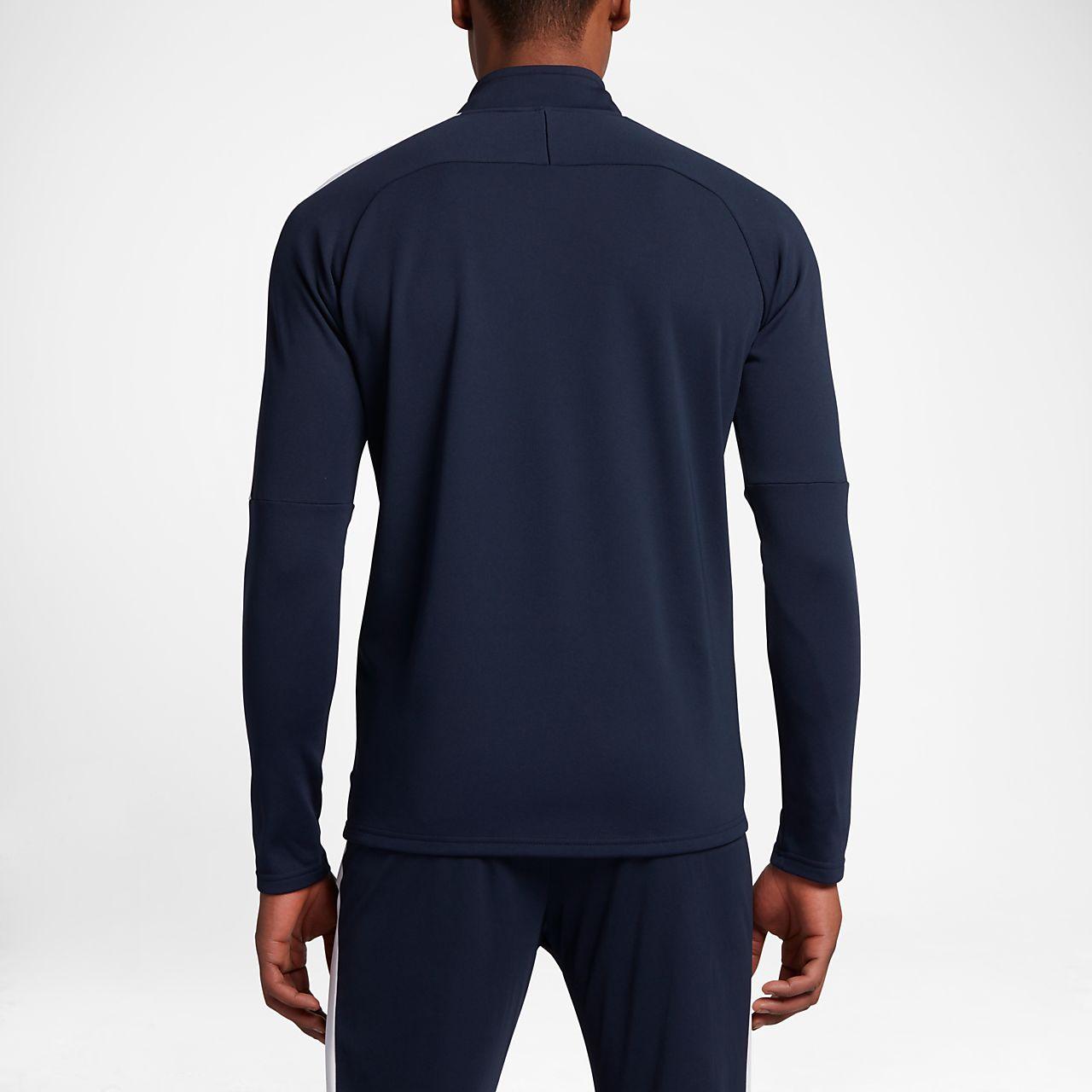 cheap for discount e36a8 fdb61 ... Nike Dri-FIT Academy Camiseta de fútbol de entrenamiento con cremallera  de 14